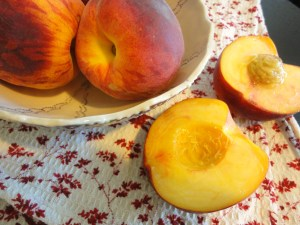 blog peaches