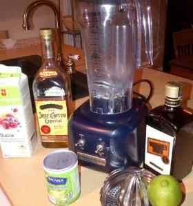 blog - Margarita ingredients