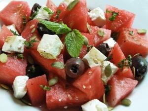 blog - watermelon salad