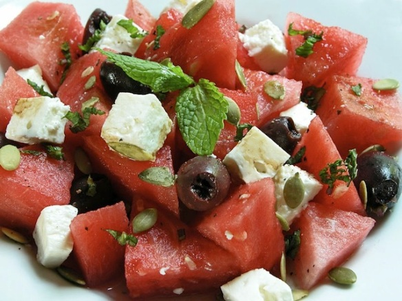 blog - watermelon salad