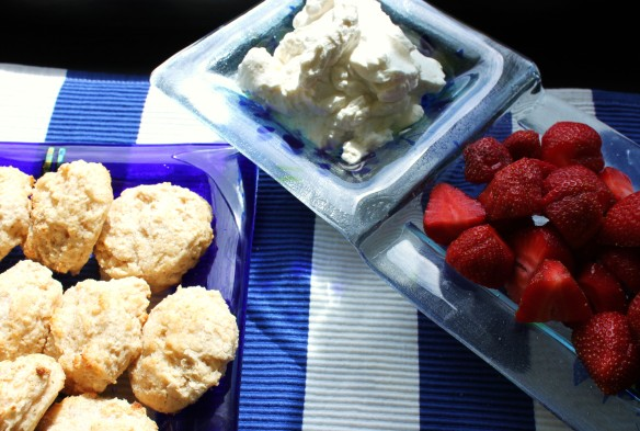 Blog strawberry shortcake deconstructed