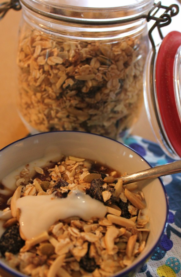Granola breakfast 3