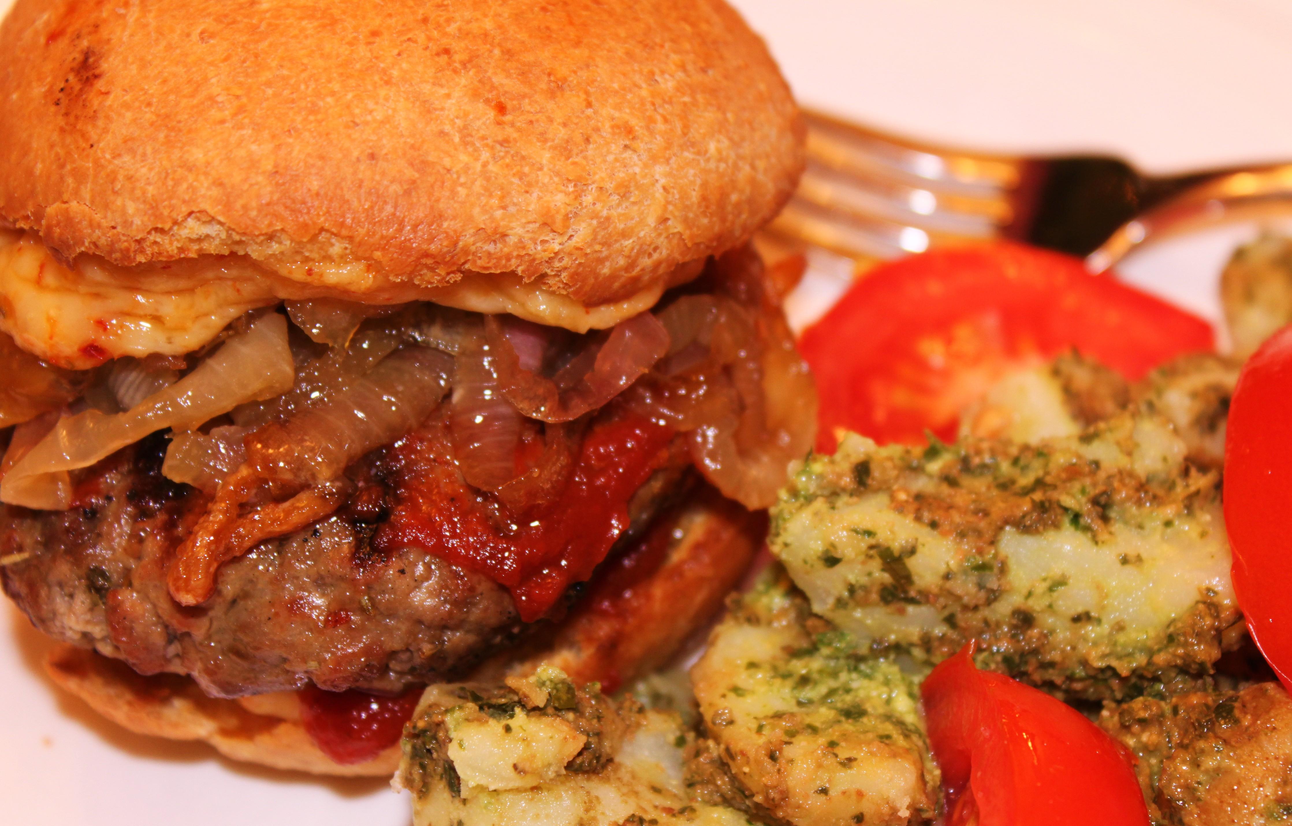 how to make homemade hamburgers with ground beef